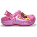 Creative Crocs Dora Lollipops & Flower Lined papucs