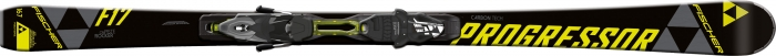 Fischer Progressor F17 skis with Fischer RS10 PR bindings