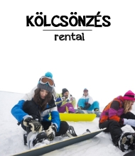To rent ski and snowboard gear