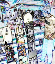 Choosing your snowboard