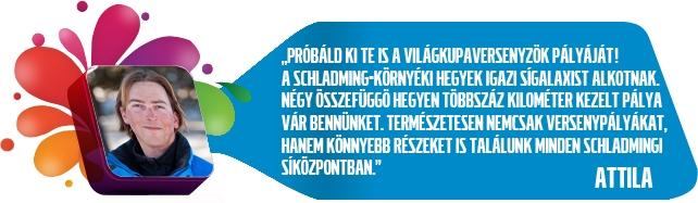 Schladmingi program ajánlása