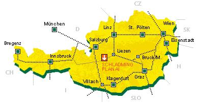 ausztria sírégiók térkép Skiing.hu :: Schladming ausztria sírégiók térkép